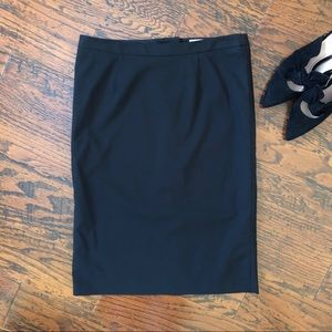Trina Turk Pencil Skirt with Lace Trimmed Slip